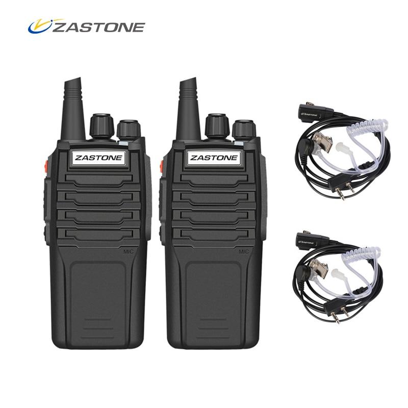 (2 pz) zastone Walkie Talkie A9 10 w Radio Amador UHF 400-480 mhz Ricetrasmettitore Portatile CB Radio Portatile Comunicador