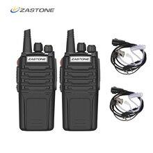 (2 יחידות) zastone מכשיר קשר A9 10 w רדיו Amador UHF 400 480 mhz כף יד משדר CB רדיו נייד Comunicador