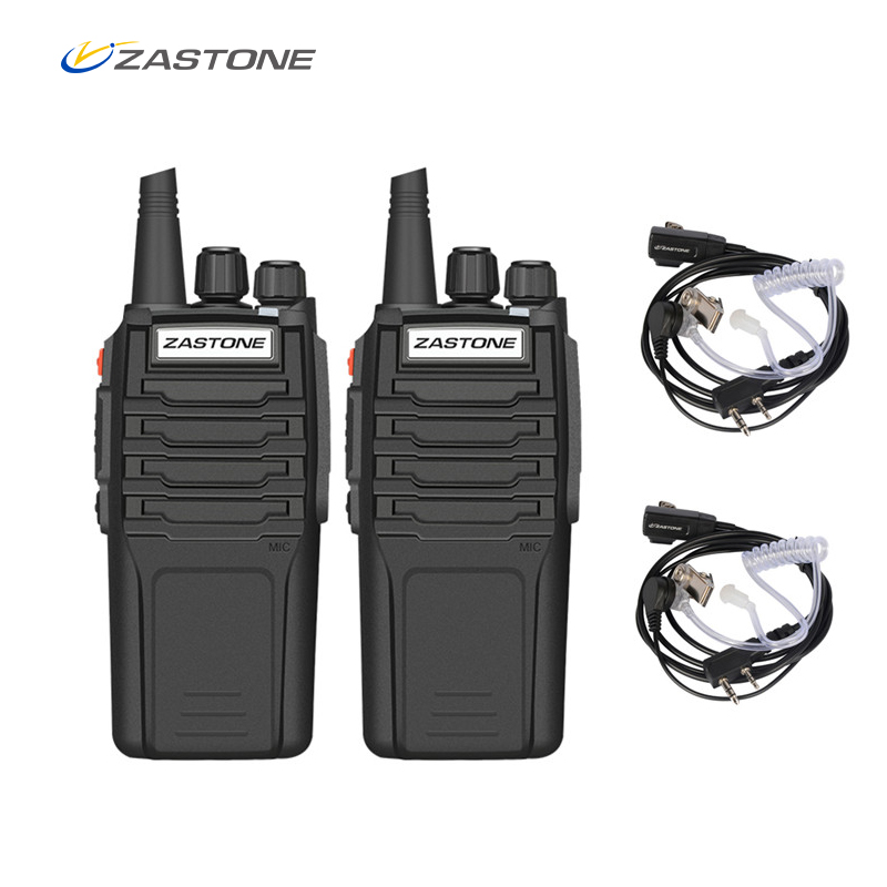 (2pcs)Zastone Walkie Talkie A9 10W Radio Amador UHF 400 480MHz Handheld Transceiver CB Radio Portable Comunicador-in Walkie Talkie from Cellphones & Telecommunications