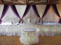 Сиреневый фон шторы 3 м x 6 м свадебное оформление сцены Банкетный брак этап фоне занавеса voilet фоне украшения