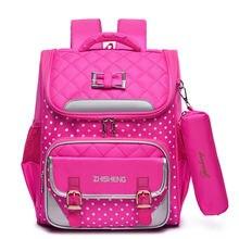 Школьные ранцы для девочек Детские ортопедические рюкзаки учебников