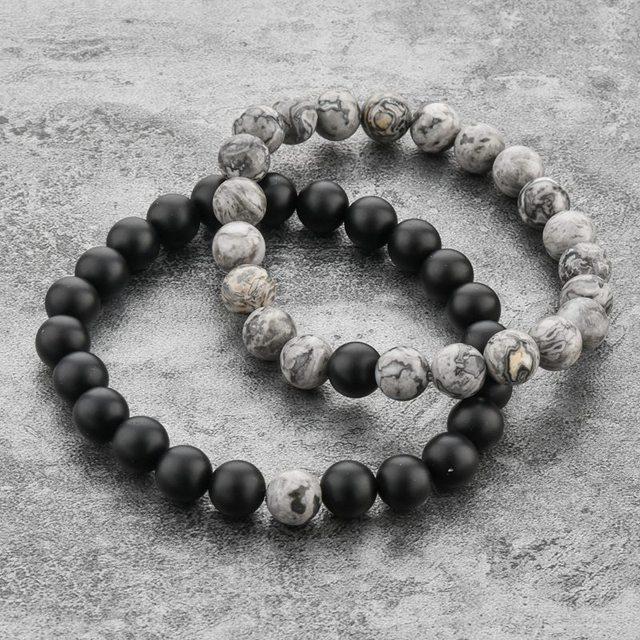 Фото chicvie 2019 серый и черный браслет с подвесками браслеты для цена