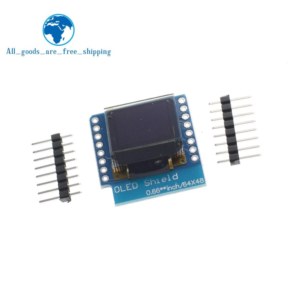 ▽TZT 0 66 inch OLED Display Module for WEMOS D1 MINI ESP32