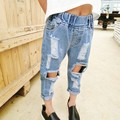 New  Baby Girl Jeans Loose Ripped Jeans For Kids Jeans For Girls And Boys Jeans 6BJ010