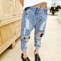 Nueva Baby Girl Jeans Loose Ripped Jeans Para Niños Pantalones Vaqueros Para Niños Y Niñas Jeans 6BJ010
