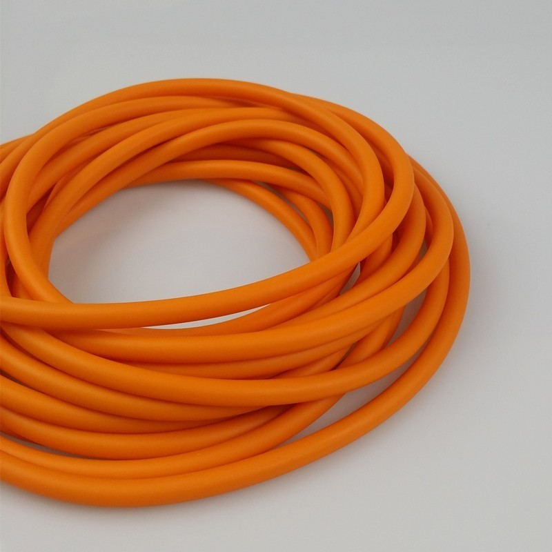 Natural Latex Slingshots Rubber Tube 0.5/1/2/3/4/5M For Hunting Shooting High Elastic Tubing Band Accessories 2mmX5mm Diameter
