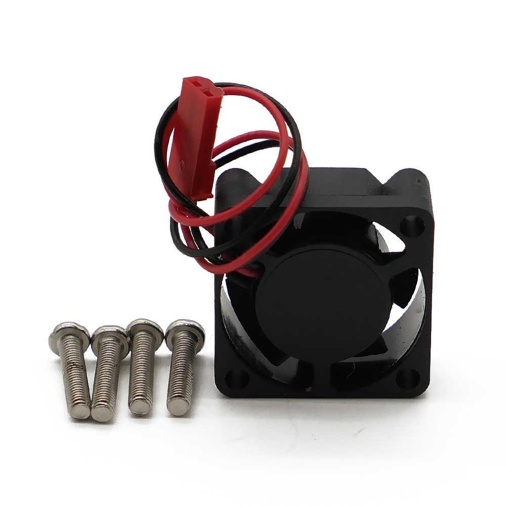 Вентилятор охлаждения двигателя, 5 В, 25 мм * 25 мм для двигателя 540 550 для модели хобби 1/10 1/8 RC HSP Arrma Traxxas Axial ECX