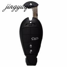 Jingyuqin 3 + 1 Panic 4btn Smart Remote Брелока Для Jeep Dodge Зарядное устройство Magnum Challenger Chrysler 300