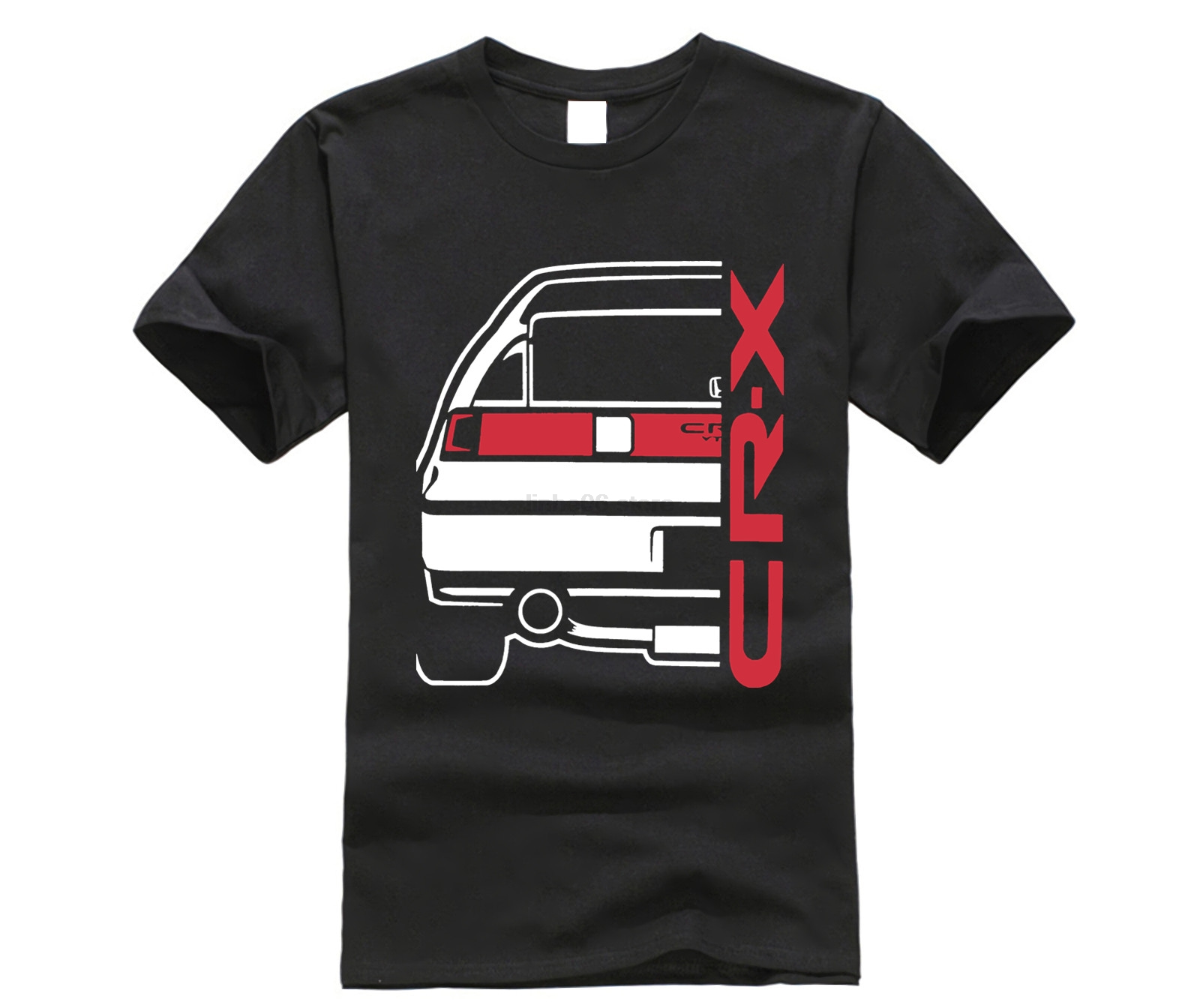 2019 Hot Sale 100% Cotton Classic Japanese Car Fans CRX VTEC T-SHIRT (Type 1) Tee Shirt