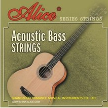 Acoustic Bass Strings ALICE 040-095 Hexagonal Core Coated Copper Alloy Wound Music Wire Set 4pcs/set Bass Guitar Strings