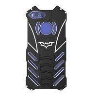 Cho Xiaomi Mi6 Trường Hợp Chống Sốc Nhôm Kim Loại Armor 3D Bảo Vệ điện thoại Armor Bìa Cho etui Xiaomi Mi 6 Trường Hợp Mi6 + Batman Bracket