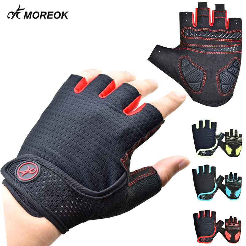Half Finger Cycling Bike Sports Gloves with Silicone Gel Pad For Children Women