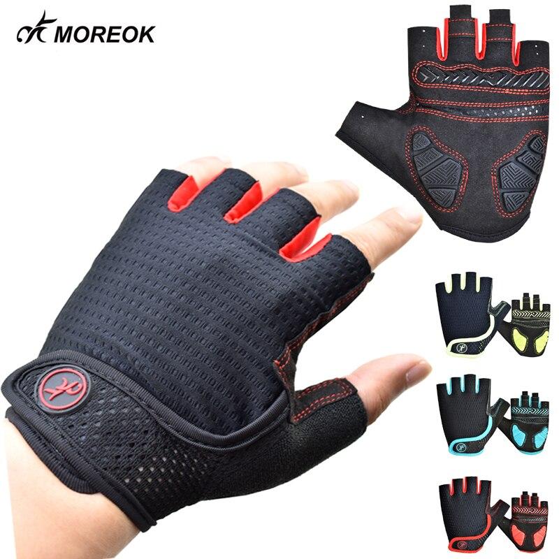 Summer Cycling Gloves Short Finger Gloves MTB Bike Bicycle Half Finger Gloves