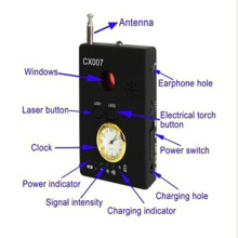 CX007 Full Range Frequency Detector Multi-function Signal Camera Phone GSM GPS WiFi Bug Spy RF Detector Finder
