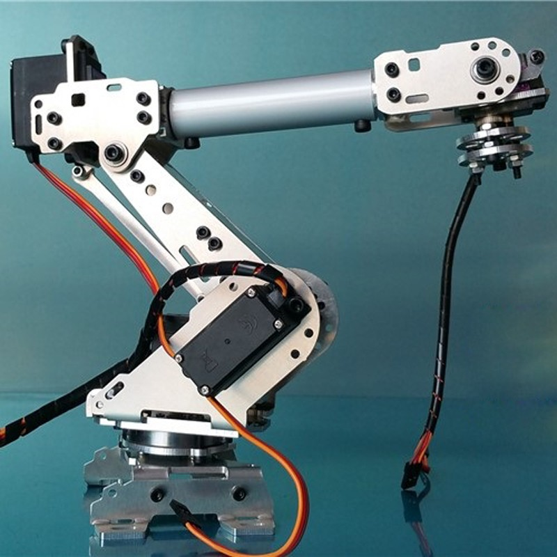 6 DOF CNC aluminum robotic arm (6)