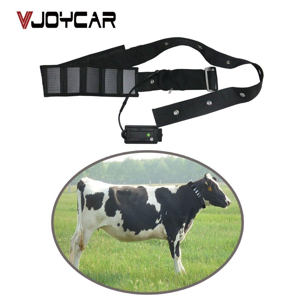 牛 GPS トラッカーソーラーパネル襟ビッグ充電式バッテリー 5000 用牛馬ラクダビッグ動物リアルタイム追跡  グループ上の 自動車 &バイク からの GPS トラッカー の中 1