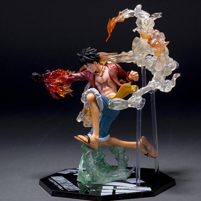 Dessin animé une pièce singe D Luffy bataille Ver. Figurine sans PVC Figuarts Collection jouet cadeau