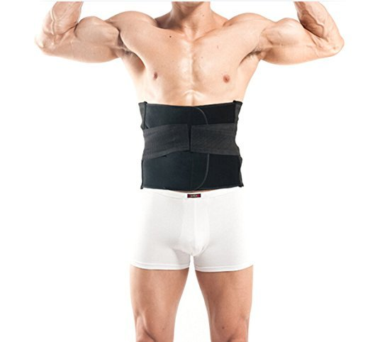 Protein Cordyceps Patch Breathable Waist Slimming Trimmer Belt Lose Tummy Abdominal Binder Band, Back Pain Support Brace Band 2