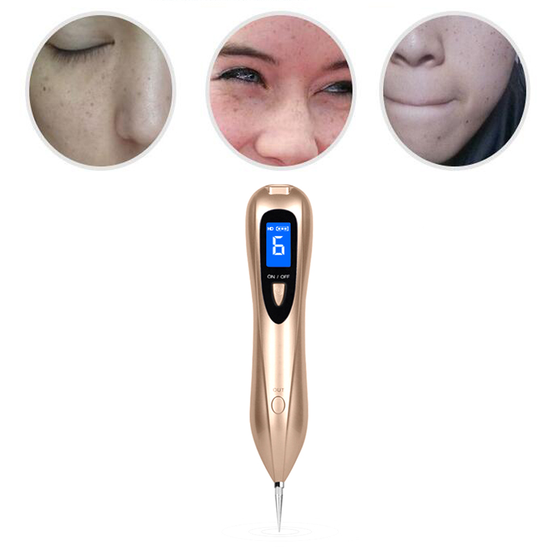Skin Wart Tag Tattoo Removal Tool Skin Care Laser Plasma Pen Mole Removal Dark Spot Remover LCD Skin Care Point Pen Beauty 30 beauty instrument laser freckle removal machine skin mole removal dark spot remover for face wart tag tattoo remaval pen salon