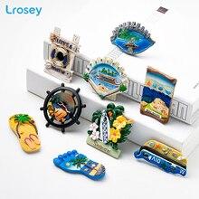 Maldives Fridge Magnet Souvenir Greek Seascape Ocean Travel magnets for refrigerators Home Decor Accessories fridge magnet