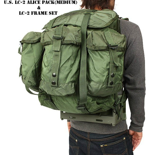 14c147784138 Ally alice backpack frame lc 2 outdoor hiking mountaineering bag on ...