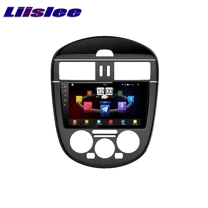 For Nissan Tiida Pulsar 2011~2017 LiisLee Car Multimedia TV DVD GPS Audio Hi Fi Radio Stereo Original Style Navigation NAVI