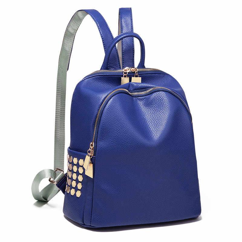 Высокое качество PU кожаный женский рюкзак Mochila Feminina корейский Повседневный мини рюкзак женские Школьные сумки дорожные сумки для девочек WXF10