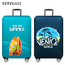 REREKAXI Thicker Travel Luggage Covers 19-32 Inch Suitcase Elastic Dust Protective Cover Trolley Case Cover Travel Accessories