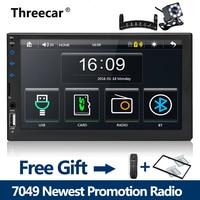 2 din car radio 7 HD Player MP5 Mirror Link Android phones Bluetooth Multimedia USB 2din Autoradio Car Backup Monitor 1024X600