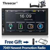 2 din car radio 7 HD Player MP5 Mirror Link Android phones Bluetooth Multimedia USB 2din Autoradio Car Backup Monitor 1024X600