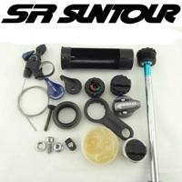SR SUNTOUR Fork Remote Lockout wire control Lever XCM fork Repair parts for Suntour Front fork Bicycle front accessories Parts|Bicycle Fork|Sports & Entertainment -