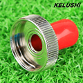 KELUSH I2016 medidor de potencia de fibra Óptica conjunta/fuente de luz conector adaptador ST/medidor de potencia adaptador splicer envío rápido