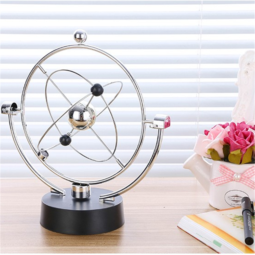 Chaotic pendulum instrument perpetual balance celestial globe Home Furnishing desktop machine craft decoration Newton ornaments livia corsetti adiva красный боди комбинезон