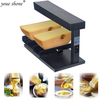 Li Bai kitchen Machine Commercial Cheese Melter Electric Cheese Wheel Multi Function Swiss cream melter 650W 110V Rapid Heating