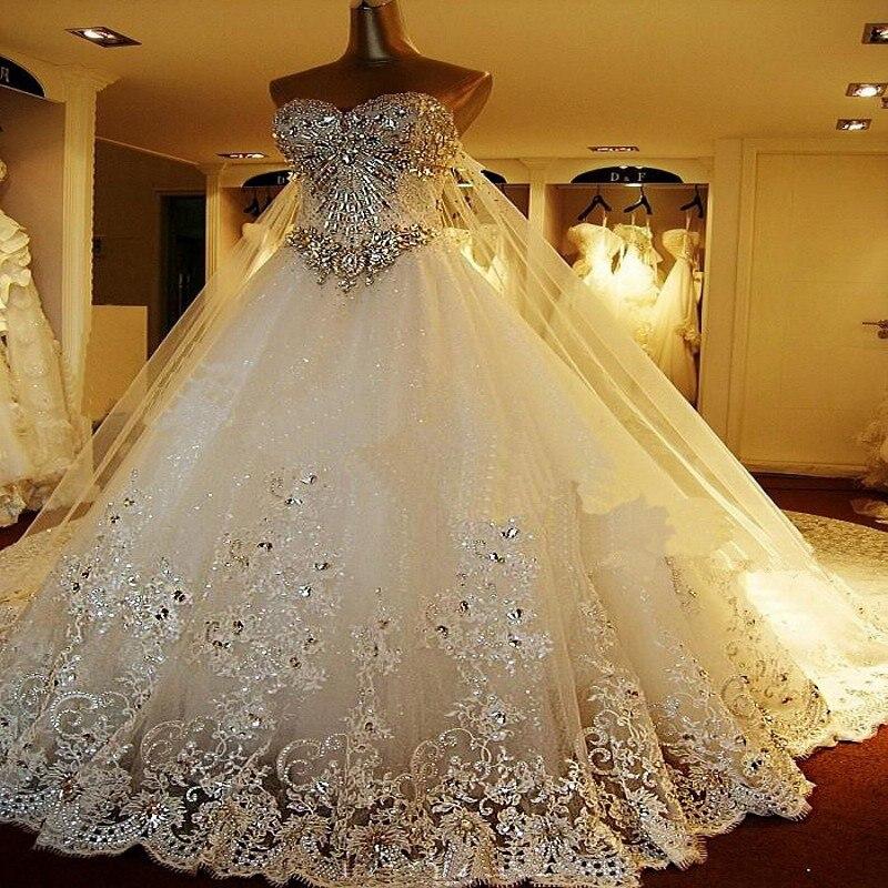 Vestiti Da Sposa Meravigliosi.Top Di Lusso Meravigliosi Lunghi Abiti Da Sposa 2015 Sweetheart
