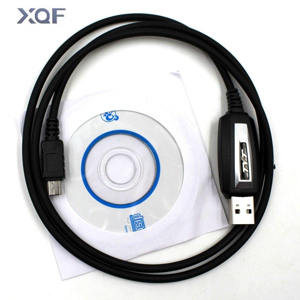 TYT Original USB Programmierkabel für TYT TH-9800 TH-7800 Mit Software CD
