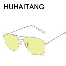 Luxury Square Metal Sunglass Men Brand Designer Pilot Sun Glasses For Man 2019
