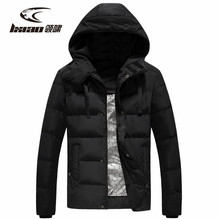 LXIAO Intelligent Heated Men Down Jackets 2018 New Winter Thermal Outdoor Windproof Breathable Camping Hiking Winter Jacket Men