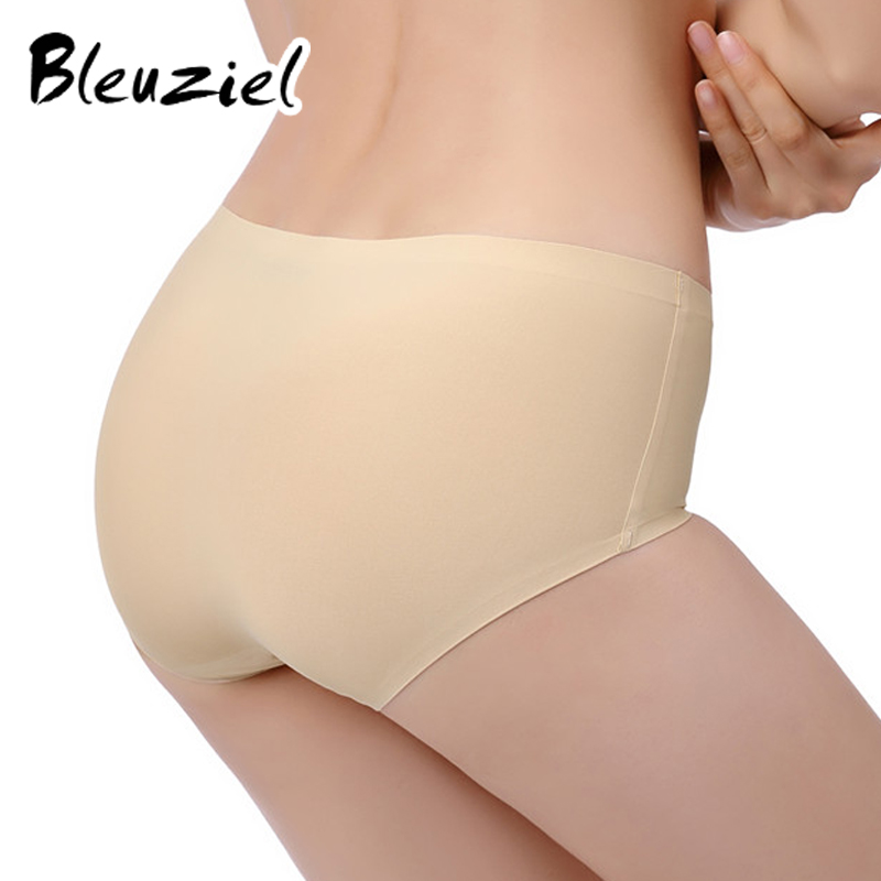 dfbd296e7236 Soft Women Panties Thin Briefs Seamless Panties Solid Color Lingerie  Underwear Women Elasticity Ice Silky Panties For Women on Aliexpress.com |  Alibaba ...