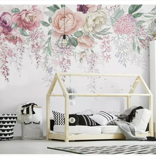 beibehang Fashion personality decorative painting wallpaper hand-painted vintage