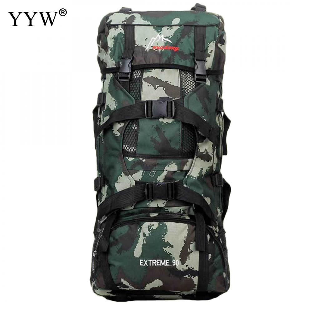 High Capacity Military Style Men Travel Bags Army Green Duffle Bag Multifunction Backpack for Male Mountaineerin Mens Backpacks