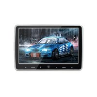 JD 1018AV 10.1 inch 12V 1024*600 DVD CD MP3 FM Auto Rear Seat Entertainment MP4 Audio Video IR USB Digital Screen Car minitor