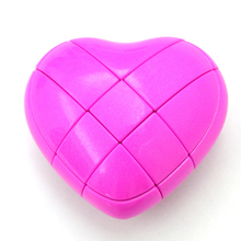 Wilscoil 3x3x3 Heart Shape cubo magico Strange Shape Speed Puzzle Cube Brain Teaser Educational learning Toy for Children