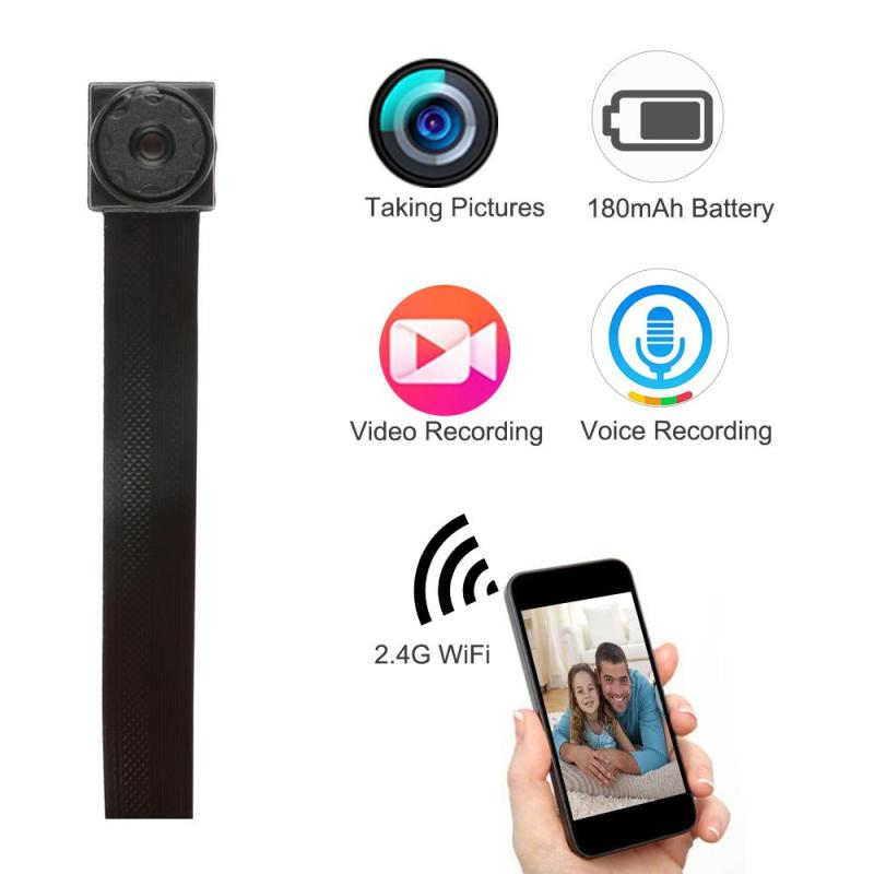 WIFI 1080P HD Mini Camera DVR DIY Module IP Cam Motion Detection Camera P2P HD Camera Digital Video Recorder Security Camcorder