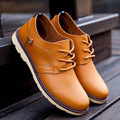 2016 Brand Quality England Fashion Martin Ankle Boots Breathable Lace Up Solid Casual Shoes Design Flats For Men Chaussure Homme