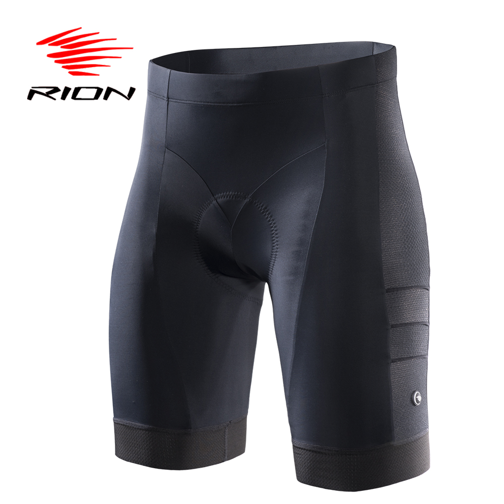 RION Cycling Shorts Women Summer Riding 5R Gel Padded Comfortable Underwear Black UV Protection MTB Mountain Bike Bicycle Shorts