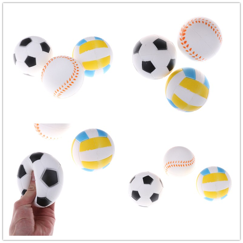 2019 Fashion 1pcs Anti Stress Ball Squishy Slow Rising Football9.5cm Pu Sponge Kids Funny Gadgets Surprise Bouncy Antistress Toy Phone Strap Cellphones & Telecommunications Mobile Phone Accessories