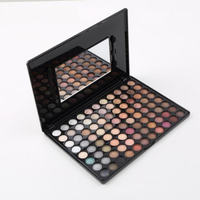 2015 Professional Makeup Eyeshadow kit 88 Warm Color Eye Shadow Palette Neutral Make Up Makeup Eyeshadow Cosmetic for women