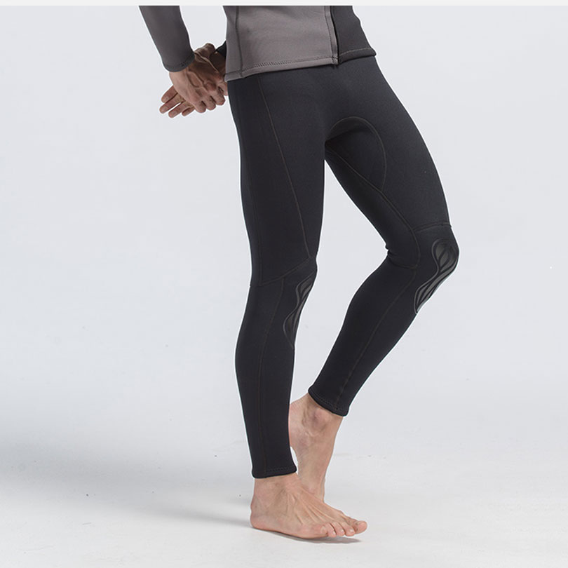 Diving Surfing Snorkeling 2017 Black Color 3mm Neprene Wetsuit PantsMens Tights Spring Winter Autumn Bottom Swimming Pants
