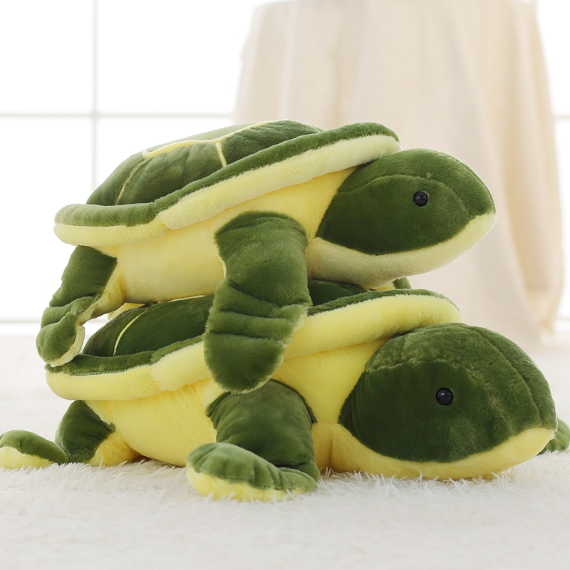 Plush Tortoise Toy Cute Turtle Plush Pillow Staffed Cushion for Girls Vanlentines Day Gift